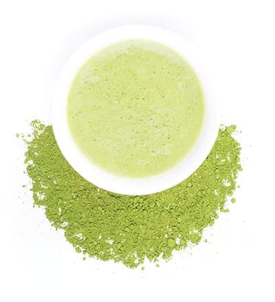 Зелен чай матча